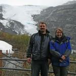 Kara and I near Worthing Glaicer