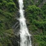 Mom and Dad at Bridal Veil Falls