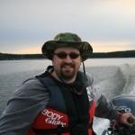 Jason at the Big Lake