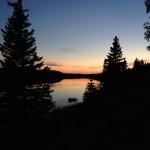 Sunset at Hunters Lake