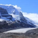 Columbia Icefield as seen from the Parkway