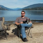 Jason and Dog at Pierre's Point