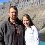 Jason and Kara at Peyto Lake