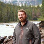 Jason by Kicking Horse River