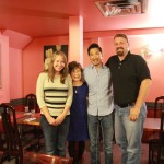Kara, Monica, Peter and Jason at the Kimchi House